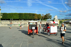Paris streets Stock Photo