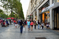 Paris streets Stock Photography