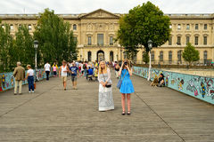 Paris streets Royalty Free Stock Photo