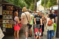 Paris streets Royalty Free Stock Photography