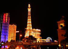 Paris on the Strip Stock Photography