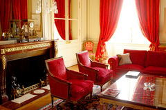 PARIS:Suite in Palace Hotel Royalty Free Stock Photo