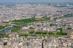 Paris in a sunny summer day Royalty Free Stock Image