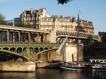 Paris at sunset Royalty Free Stock Photo