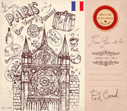 Paris symbols Stock Photos