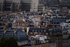 Paris tak Royaltyfri Bild