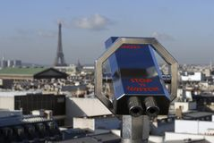Paris telescope Stock Photography