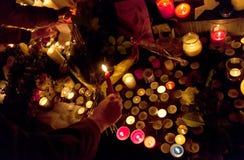 Paris terror attack november 2015 Stock Photos