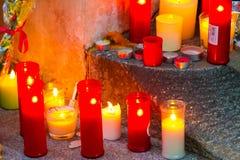 Paris terrorism attack Royalty Free Stock Photo