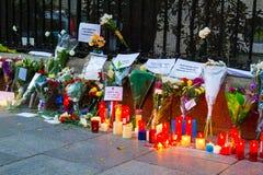 Paris terrorism attack Stock Images