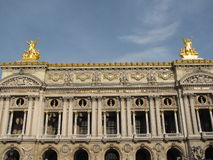 Paris theater Royalty Free Stock Images