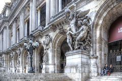 Paris. Theatre Palais Garnier Stock Images