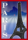Paris theme template Stock Images