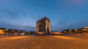 Paris Time Lapse stock footage
