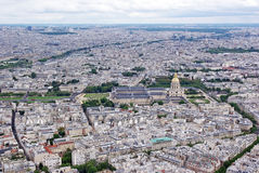 Paris from top Stock Photo