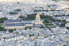Paris from top Royalty Free Stock Images