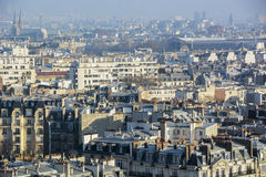 Paris from top Royalty Free Stock Photography