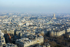 Paris from top Royalty Free Stock Photos