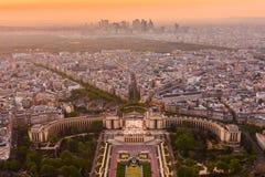 Paris from top view Stock Photos