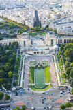 Paris from top Stock Photos
