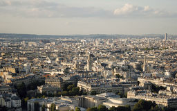 Paris. Top view from the Eiffel tower Stock Photos