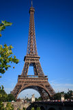 Paris - torre Eiffel Foto de Stock Royalty Free