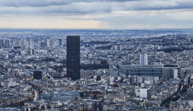 Paris - Tour Montparnasse Royalty Free Stock Photos