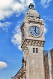 Paris. Tower of Station Gare de Lyon. Royalty Free Stock Images