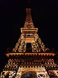 Paris. The tower is so wonderfull romantic and breathless Royalty Free Stock Photo