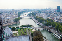 Paris town scape. Royalty Free Stock Image