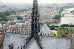 Paris town scape. Royalty Free Stock Photos