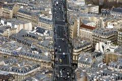Paris traffic Royalty Free Stock Photography