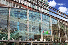 Paris train Rail Station -Gare Montparnasse. France Royalty Free Stock Image