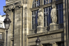 Paris train station with light Royalty Free Stock Photos