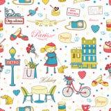Paris Travel background Stock Image