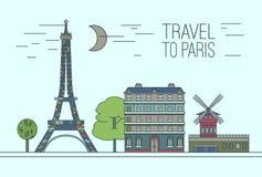 Paris Travel 13 A Royalty Free Stock Photos