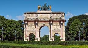 Paris - Triumphal Arch Stock Photography