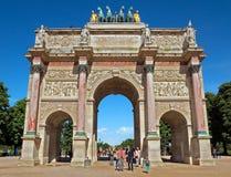 Paris - Triumphal Arch Royalty Free Stock Image