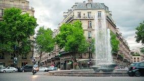 Paris Trocadero stock video footage