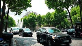 Paris Trocadero stock video
