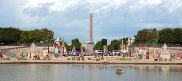 Paris - Tuileries garden Royalty Free Stock Images