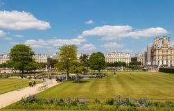 Paris. Tuileries Garden. Royalty Free Stock Photos
