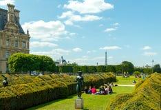 Paris. Tuileries Garden. Stock Photos