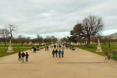 Paris. Tuileries Gardens. Stock Photos