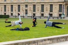 Paris. Tuileries Gardens. Royalty Free Stock Photos
