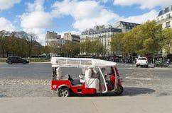 Paris tuktuk Royalty Free Stock Image