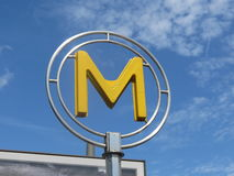 paris tunnelbana Royaltyfri Bild
