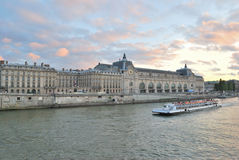 Paris at twilight Royalty Free Stock Images