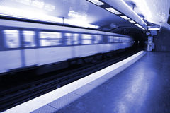 Paris Underground Royalty Free Stock Photos