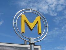 Paris underground Royalty Free Stock Image
